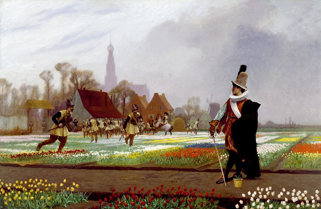 Jean-Léon Jérome, The tulip folly 1882, Walters Museum of Art